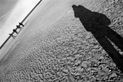 Shadow on Holkam Beach