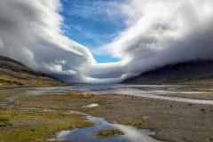 Icelandic sky -Jitka Brynjolffssen