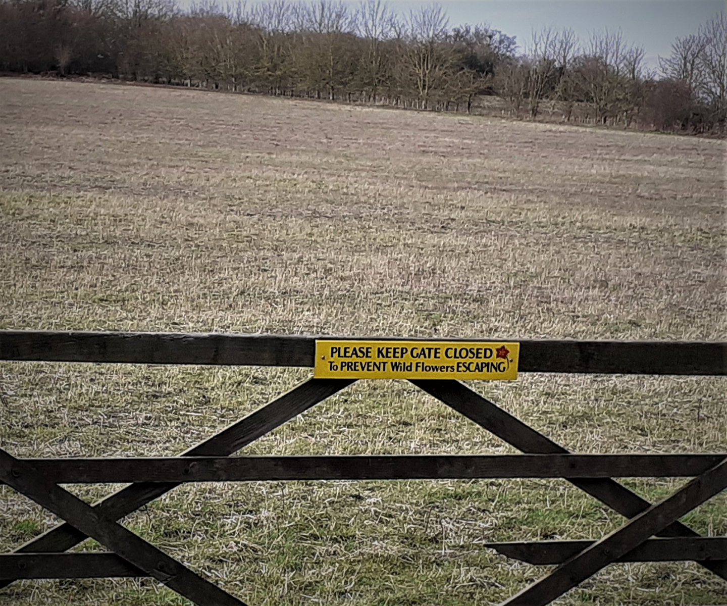 The farmer with a sense of humour.