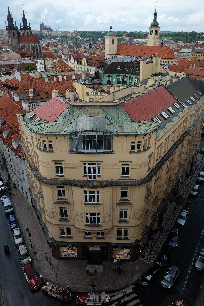 Prague from Powder Tower