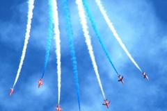 The-Red-Arrows-attending-the-Great-North-Run-at-South-Shields