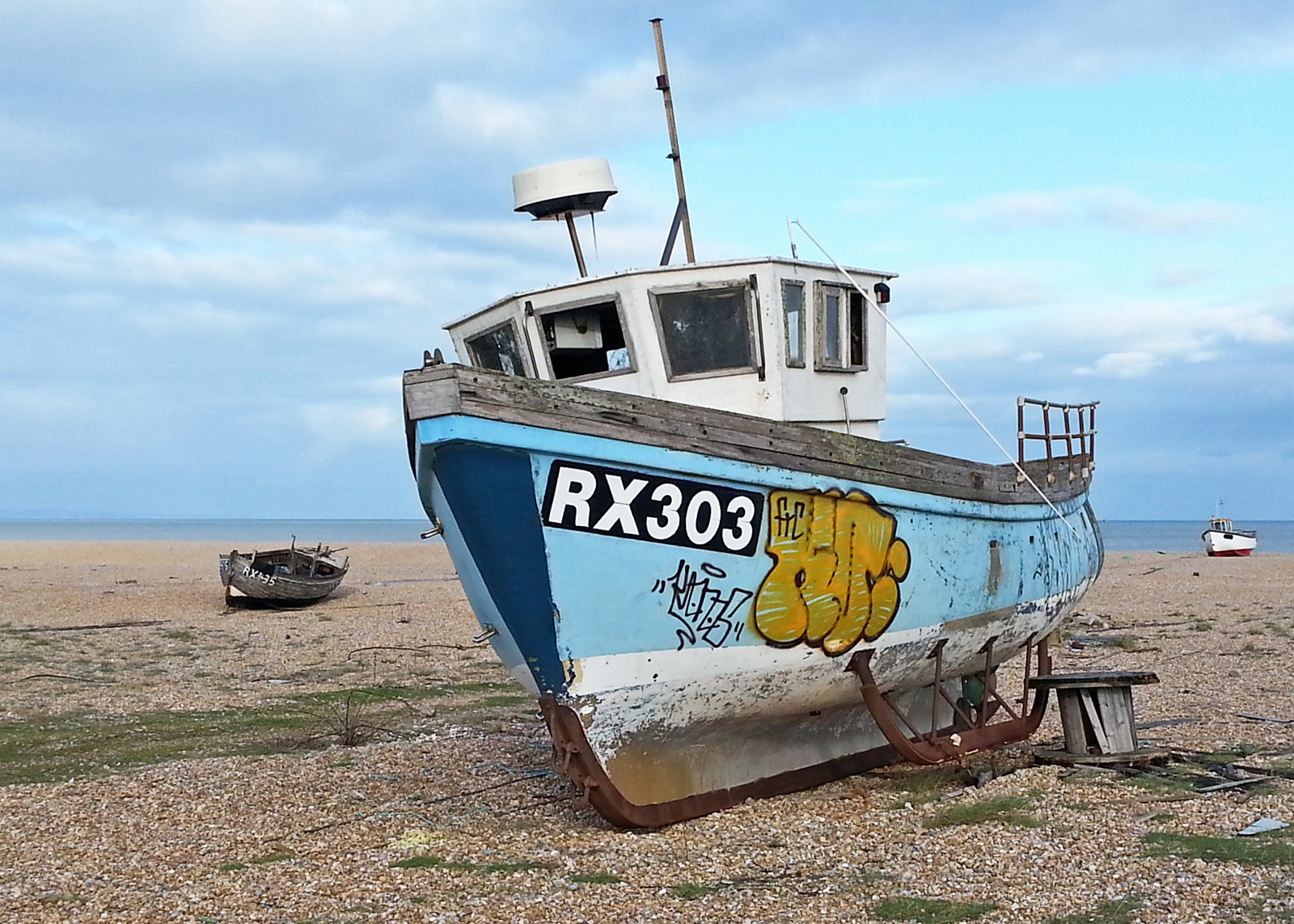 Old Fishing Boats at Dungeness