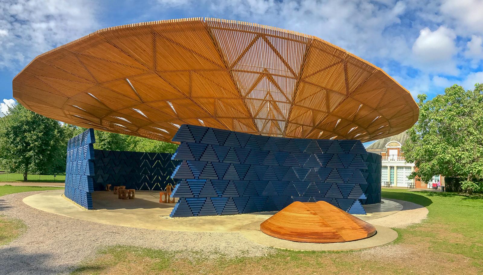 The Serpentine Pavilion 2017 designed by Francis Kéré