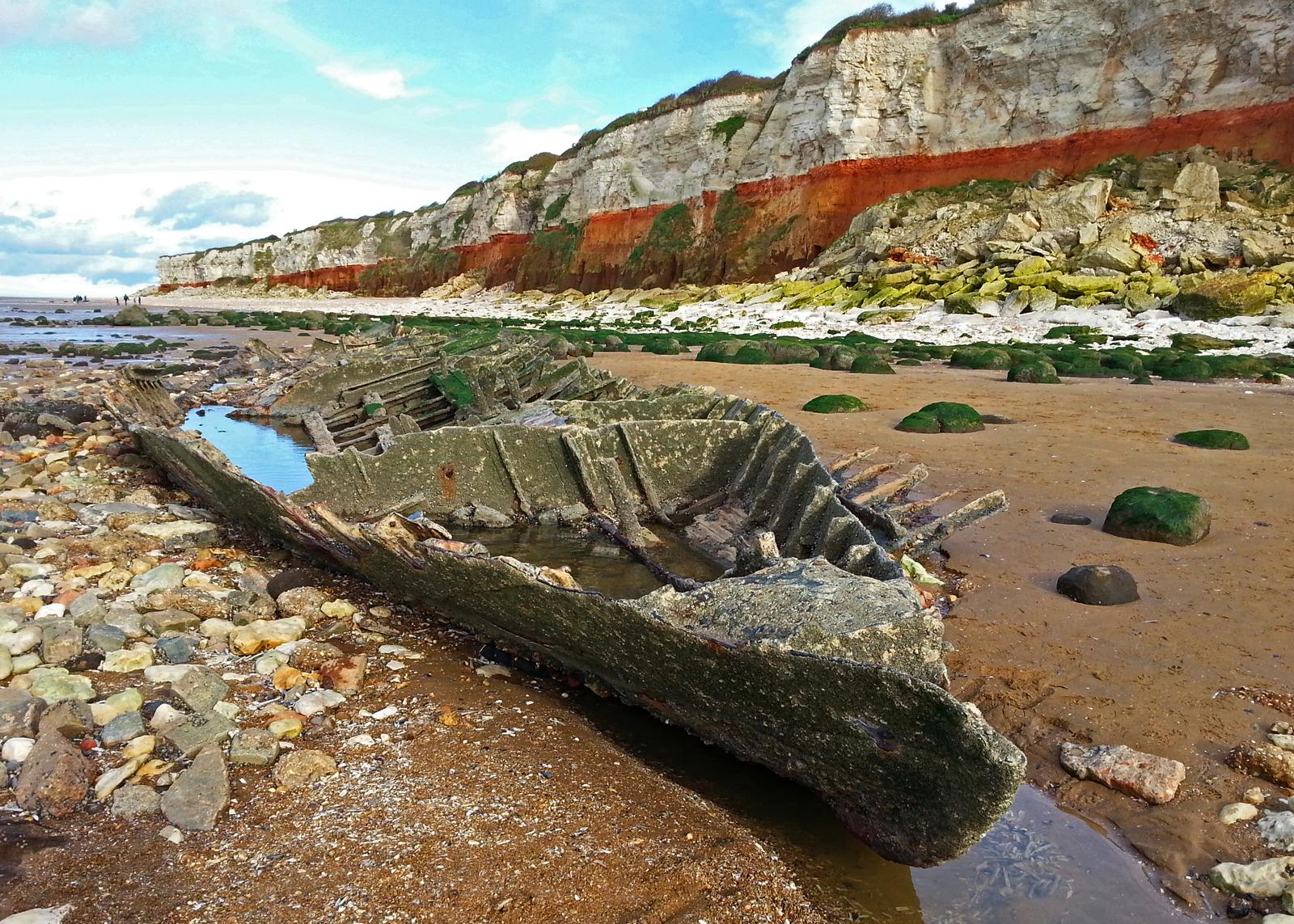 Wreck of The Sheraton at Hunstanton