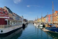 A beautiful day in Nyhavn (New Harbour), Copenhagen