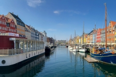 A beautiful day in Nyhavn (New Harbour), Copenhagen