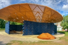 The Serpentine Pavilion 2017 designed by Francis Kéré