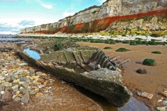 Wreck of The Sheraton at Hunstanton