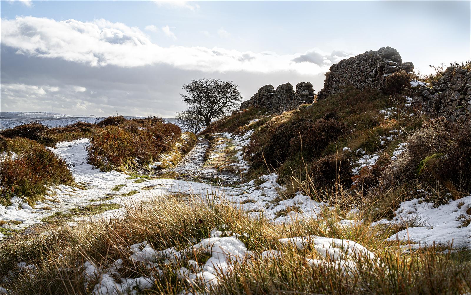 Winter on Whin Hill, Derbyshire