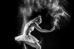 Ayla, flowing in dance