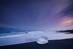 Fading Light at Diamond Beach